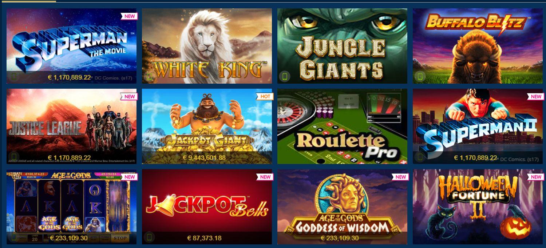 Обзор казино Европа Игровые автоматы